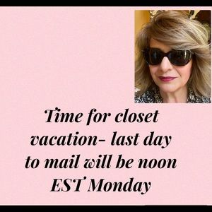 Closet Vacation 💃 order by  June 21st Noon EST